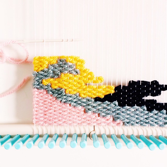 Weaving detail by @vitaminimodern on instagram