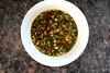 Mu'er Maodou Shala (Wood Ear Mushroom Salad with Edamame)