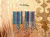 Macramé Cavandoli square necklaces