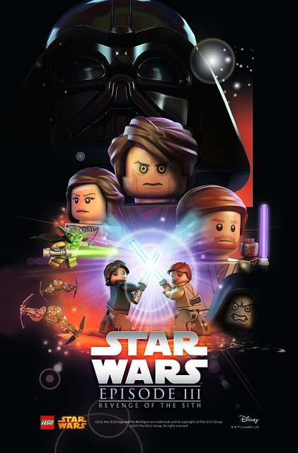 LEGO Star Was Movie Poster - Episode 3