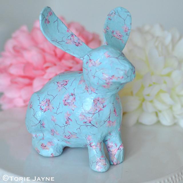 Decoupage bunny 2
