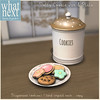 {what next} Dotty Cookie Jar & Plate for Wayward Hunt