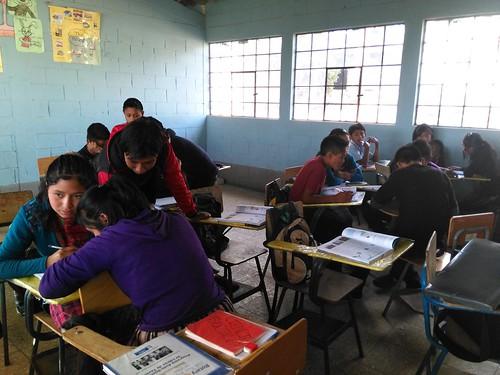 Maria del Carmen classroom