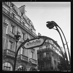 Metro, Saint Michel - Paris