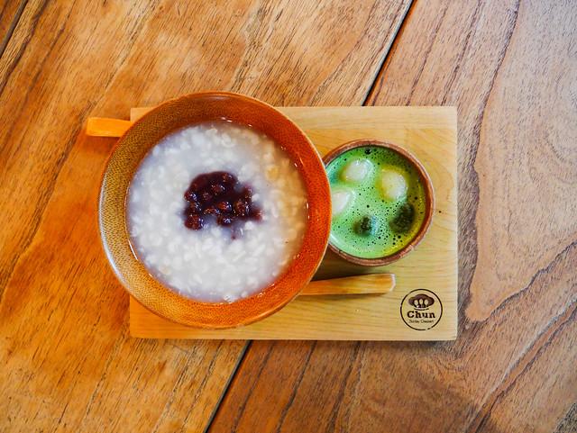 台南 中西區–大菜市裡的茶碗薏仁–Chun純薏仁。甜點。