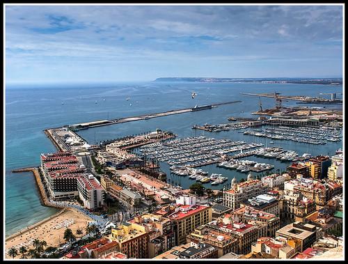 Alicante: A vista de Pájaro