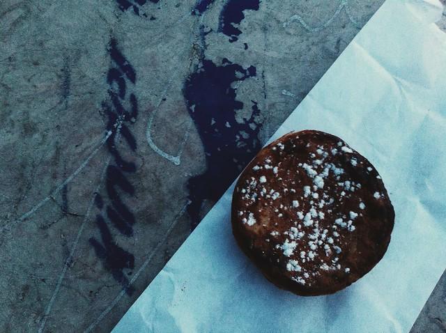 Ontem à noite, para satisfazer a gula fui comer um pastel de nata da Manteigaria no Adamastor.