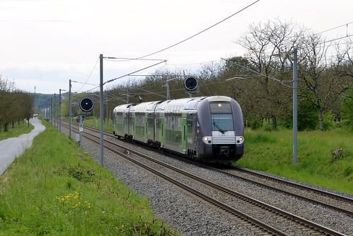 Z 24500 sur un Saint Marcellin - Chambéry