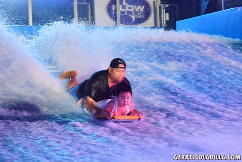 Flow riding the waves at Flow House Manila in Molino, Bacoor, Cavite