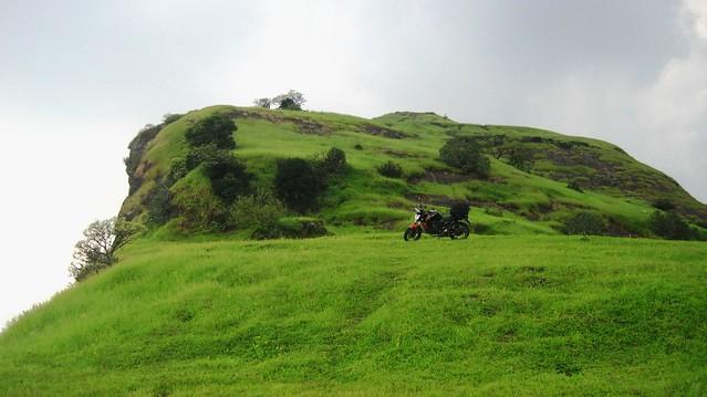 Bike at Nane Ghat