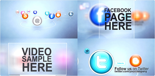 Preview_Project Social NetWork Icons