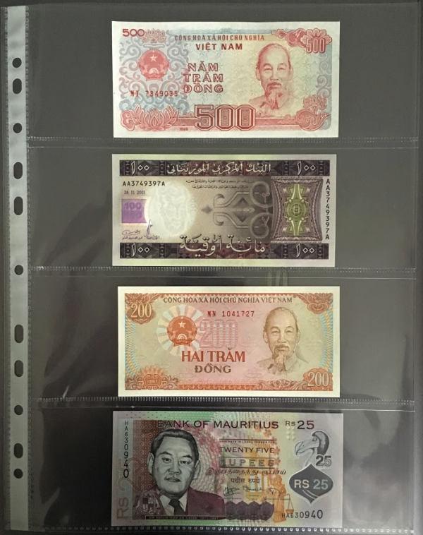 Obal na bankovky, 4 kapsy - hrúbka 120 mikrónov