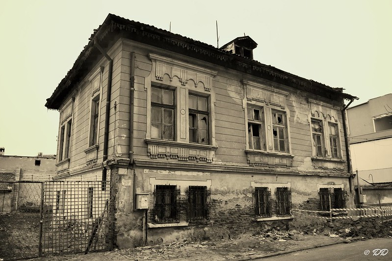 Old house in Pazardzhik, Bulgaria.