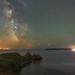 'Bioluminous Bay' - Three Cliffs Bay, Gower by Kristofer Williams