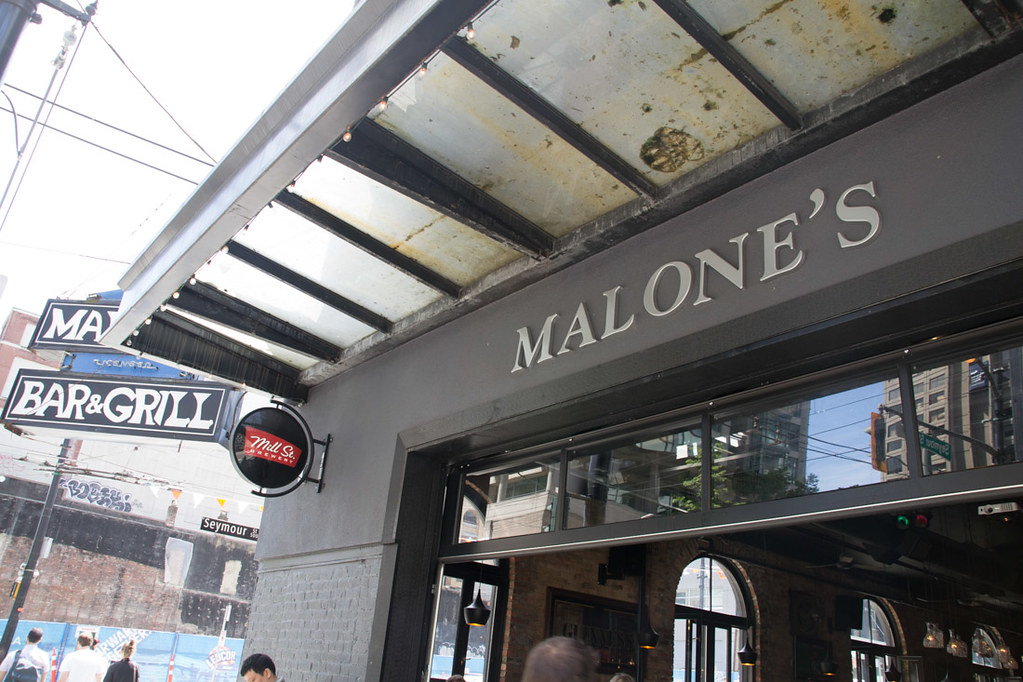Malone's Restaurant in Vancouver