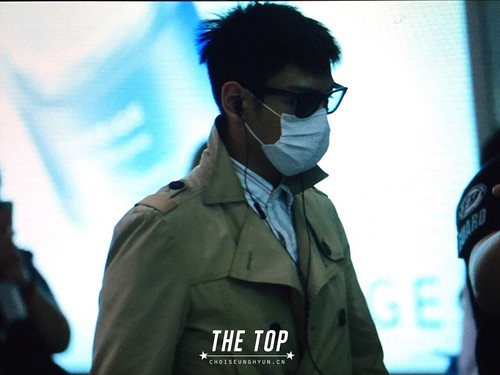 Big Bang - Beijing Airport - 05jun2015 - TOP - The TOP - 01