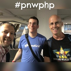 And there are 3 inbound for #pnwphp