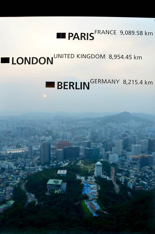 London 8,954km