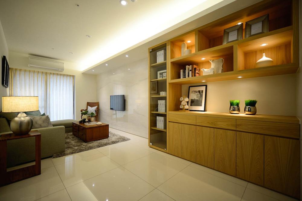 板橋皇冠45坪北歐風室內設計作品
