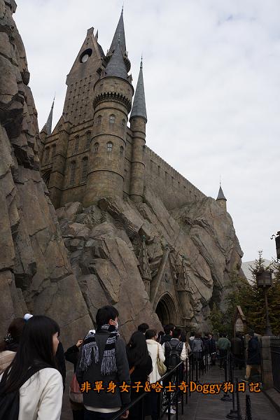 日本大阪環球影城哈利波特進擊的巨人21