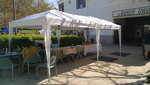 My Booth Under the Canopy