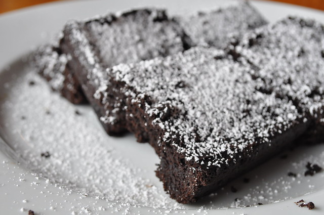 Black Magic Brownies