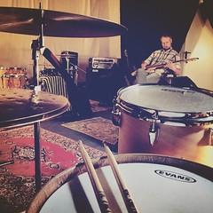Groove rehearsal... #elephantscrossing