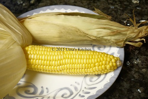 Oven roasted corn on the cob 2
