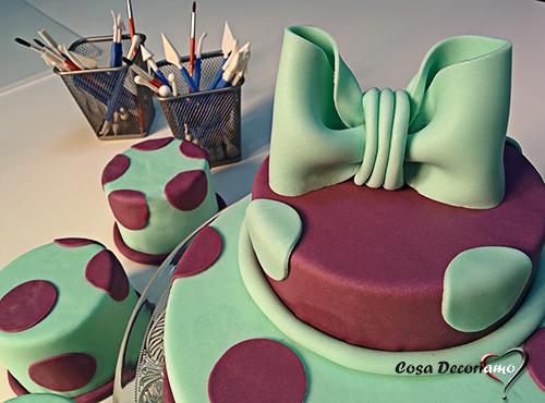 Torte - 96 - Torta con mini cake