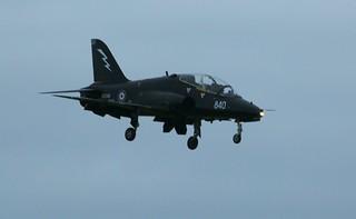 XX240 BAE Hawk  Royal Navy. (IMG_3781)