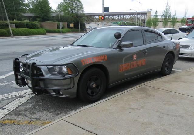 Georgia State Patrol grey Charger