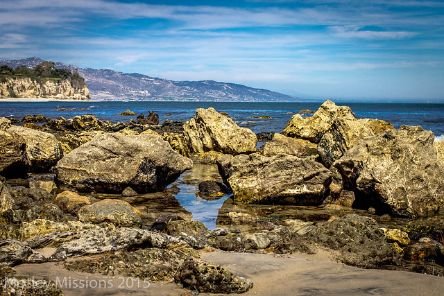 rocks coastline
