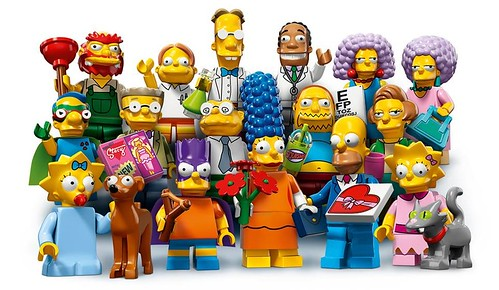 LEGO The Simpsons Collectable Minifigures Series 2 (71009)