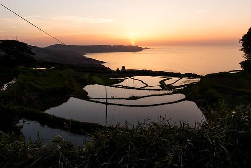 sunset japan terrace sony sigma yamaguchi nagato nex7 19mmexdn