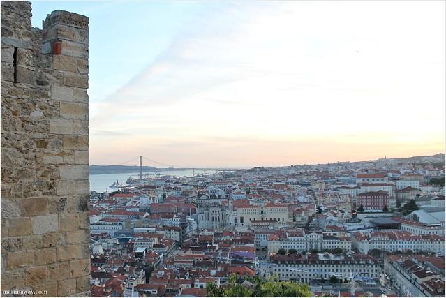 View from the Castle, Castello di São Jorge
