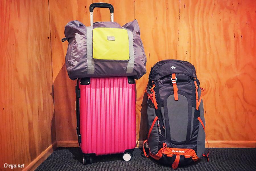 2016.05.21 ▐ 紐到天涯海腳 ▐ 打工度假(或長程旅行)該如何打包?行李準備的經驗談 05