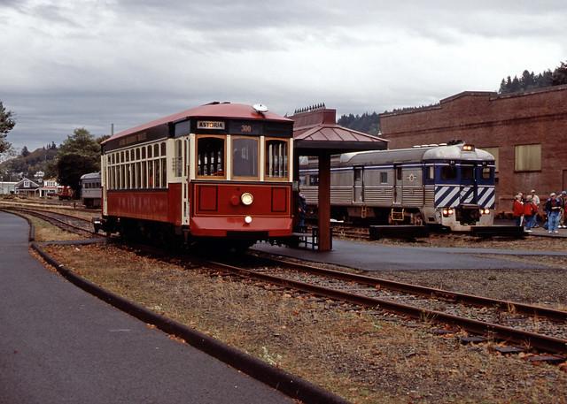 Lewis & Clark Explorer RDC #31 .  Astoria Oregon, September 30 2005.