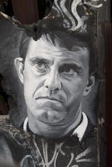 Manuel Valls, painted portrait _DDC0037