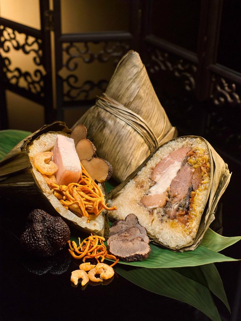万豪粤式特色猪肉咸蛋水饺