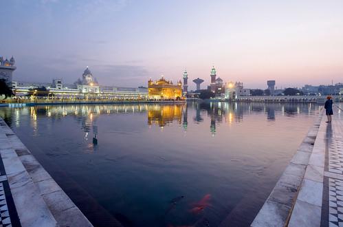 morning india architecture temple sikh punjab amritsar goldentemple harmandirsahib