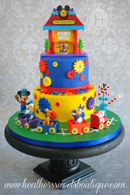 Super Fun Cake by Heather's Sweets Boutique