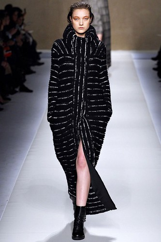 Cocoon Coat Fashion Trend for Fall Winter 2013   Blumarine Fall Winter 2013  #mfw