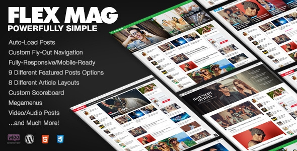 Flex Mag v2.0.1 – Responsive WordPress News Theme