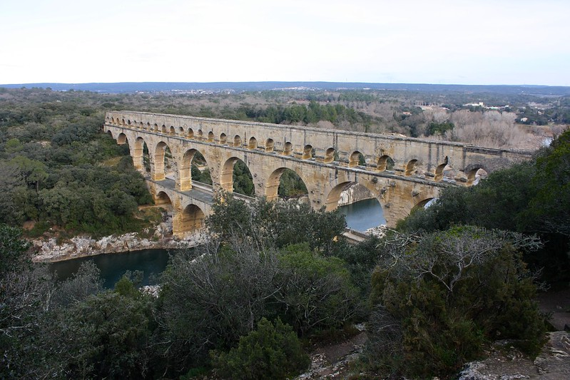Pont du Gard, February 16th, 2015