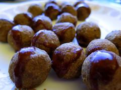 First light: Italian meatballs with steak sauce