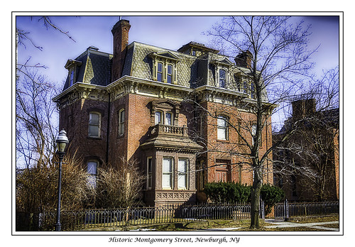 Historic Montomery Street, Newburgh, NY