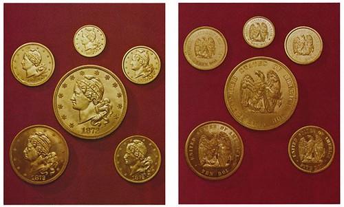 1872 Amazonian gold pattern set
