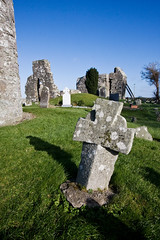 Ancient Stone Cross at Oughterard