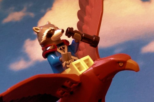Adventures of Major RacCoon 7: Flying with Great Eagle