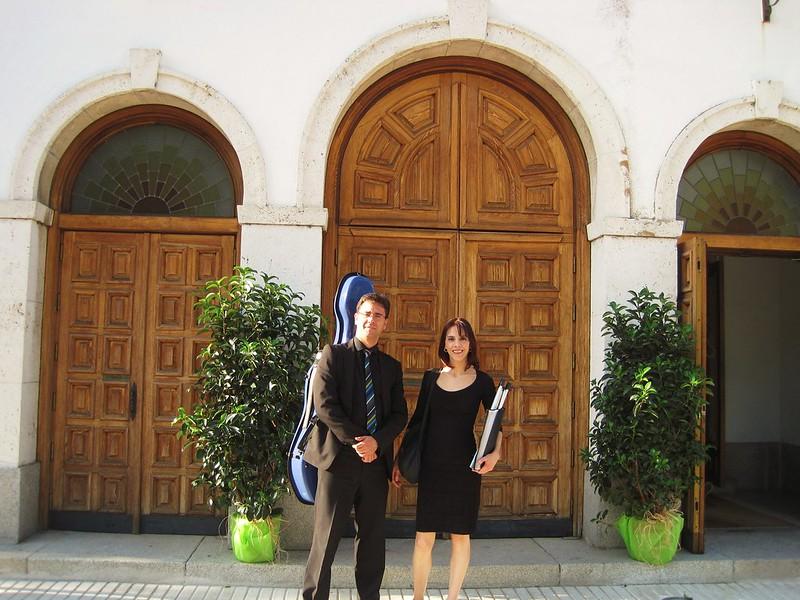 Eva Ozáez y Emilio Ozáez